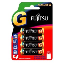 Fujitsu - Fujitsu AA LR06 Alkalin G Kalem Pil 4Lü Blister