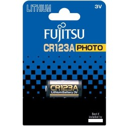 Fujitsu - Fujitsu CR123A 3V Lityum Pil Blister