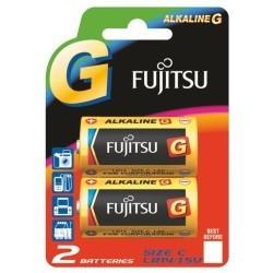 Fujitsu LR14 Alkalin Orta Boy Pil 2Li Blister - Thumbnail