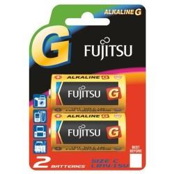 Fujitsu - Fujitsu LR14 Alkalin Orta Boy Pil 2Li Blister