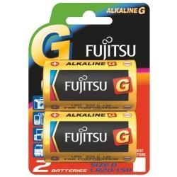 Fujitsu - Fujitsu LR20 Alkalin Büyük Boy Pil 2 Li Blister