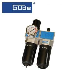 GÜDE - GÜDE 41079 Şartlandırıcı (Filtre + Regülatör + Yağlayıcı) 1/2(N)PT