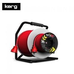 KERG - KERG Çift Makaralı Uzatma Kablosu (40m, 3x1,5mm2)