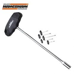 MANNESMANN - Mannesmann 18090 T-Saplı Lokma Anahtar 10,0x350mm