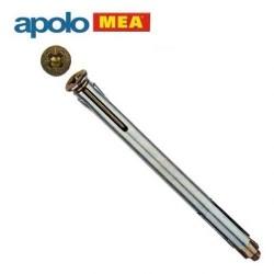 Apolo MEA - MEA Metal Kasa Dübeli (10x92mm, 100 adet)