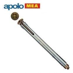 MEA Metal Kasa Dübeli (10x92mm, 100 adet) - Thumbnail