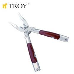 TROY - TROY 21091 Çok Amaçlı Cep Pensesi (10 Fonksiyonlu)
