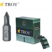 TROY 22251 Bits Uç Seti (PH1x25mm)