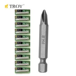 TROY - TROY 22256-10 Bits Uç Seti (10xPH2x50mm)