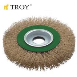 TROY - TROY 27704-150 Saçaklı Daire Fırça (150mm)