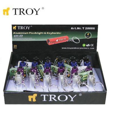 TROY 28086 Mini El Feneri ve Anahtarlık
