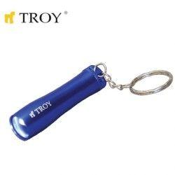 TROY 28087 Mini El Feneri ve Anahtarlık,